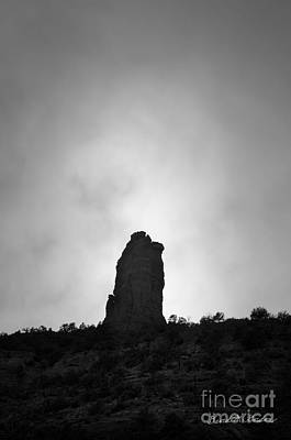 Chimney Rock IIi Art Print by Dave Gordon