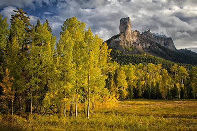 Chimney Rock San Juan Nf Colorado Img 9722 Art Print