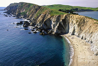 Point Reyes National Seashore Photograph - Chimney Rock Vista by George Oze
