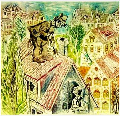Chimney Sweep Original by Milen Litchkov
