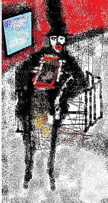 Ruth Clotworthy Digital Art - Chimney Sweeper by Rc Rcd