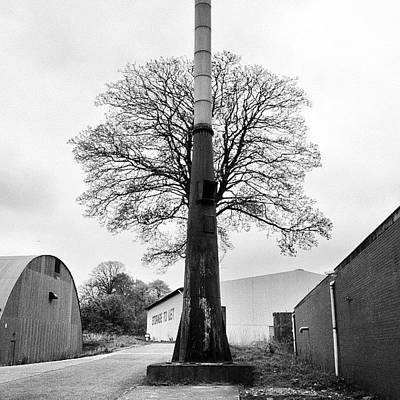 Steampunk Photograph - Chimney Tree by Carlos Macia Perez