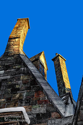 Photograph - Chimneys by Christopher Holmes