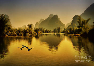 Digital Art - China by Angelika Drake