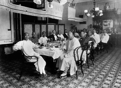 Banquet Photograph - China Banquet, C1880 by Granger