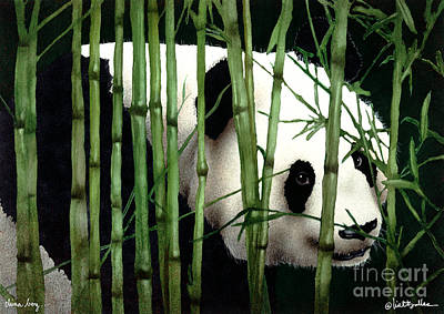 Bamboo Painting - China Boy... by Will Bullas