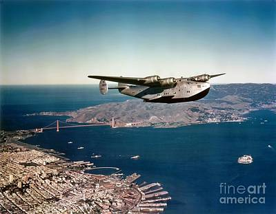 China Clipper 2 Art Print by Pg Reproductions