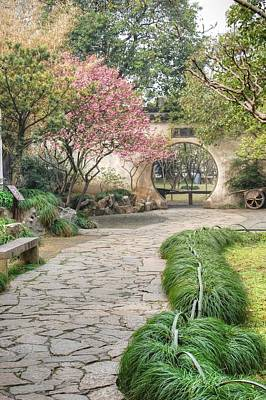 Photograph - China Courtyard by Bill Hamilton