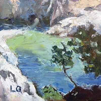 China Cove Painting - China Cove by Lori Quarton