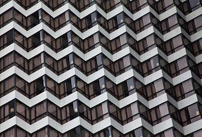 China, Hong Kong, Skyline Architecture Art Print