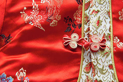 Chinese Embroidery Photograph - China, Macau Macau Was Both The First by Cindy Miller Hopkins