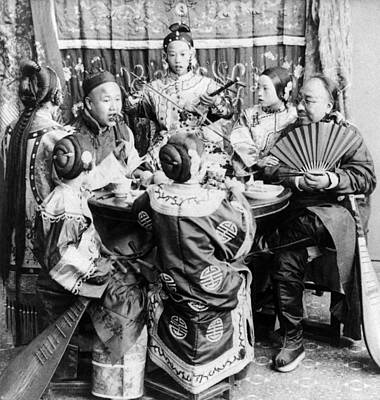 Photograph - China Singers, C1901 by Granger