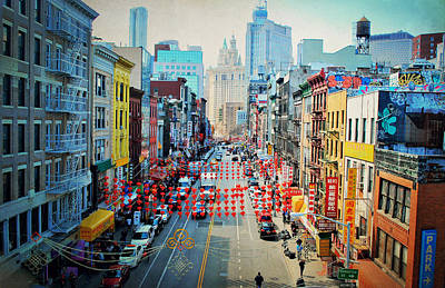 Photograph - China Town Glory by Emily Stauring