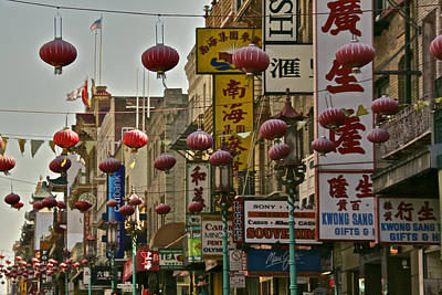 Photograph - China Town by Steven Lapkin