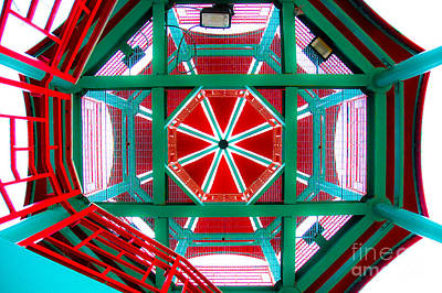 Photograph - China Town Tower Chicago by Michael Arend