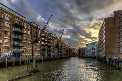 China Wharf Art Print
