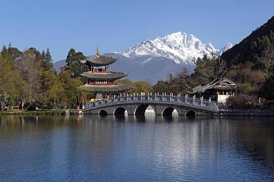 China, Yunnan, Lijiang, Black Dragon Print by Tips Images