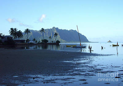 Art Print featuring the photograph Chinaman's Hat From Kaneohe Bay by Mukta Gupta
