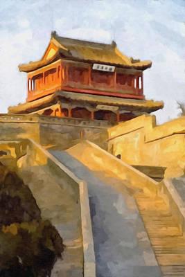 China's Hebei Province Qinhuangdao Art Print