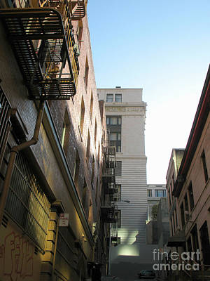 Photograph - Chinatown Alley In San Francisco by Connie Fox