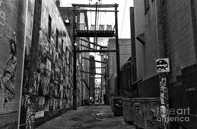 Photograph - Chinatown Alley In Vancouver by John Rizzuto