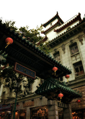 Photograph - Chinatown Entrance by Michelle Calkins