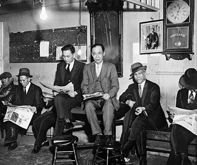 Chinatown Gang, 1933 Art Print