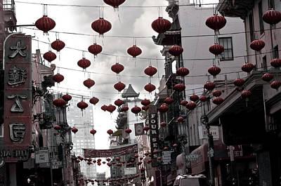 Chinatown Art Print by Larry Butterworth