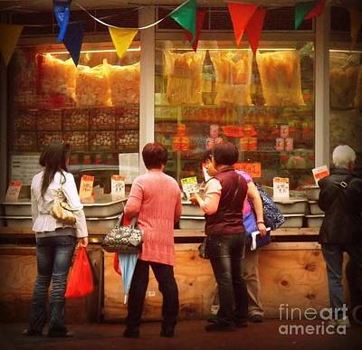 Photograph - Chinatown Market - New York City by Miriam Danar