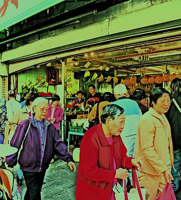 Photograph - Chinatown Market Place by Joseph Coulombe