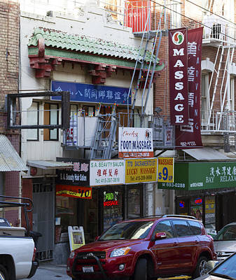 Photograph - Chinatown Massage No. 1 by Christopher Winkler
