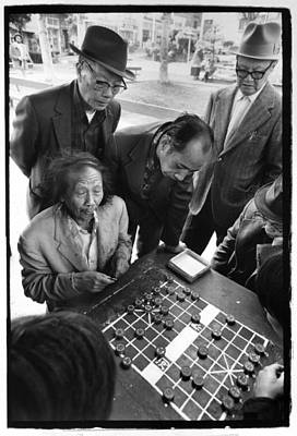 Photograph - Xiangqi Players by Ed Meredith