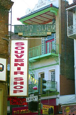 Photograph - Chinatown Souvenir Shop No. 2 by Christopher Winkler