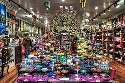 Stret Photograph - Chinatown Store Display San Francisco  by Jennifer Rondinelli Reilly - Fine Art Photography