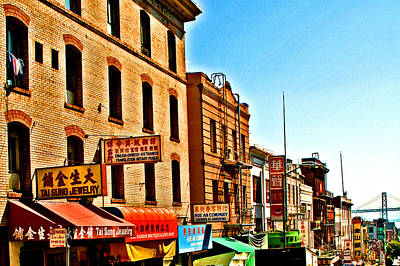 Photograph - Chinatown View To The Bay by Joseph Coulombe