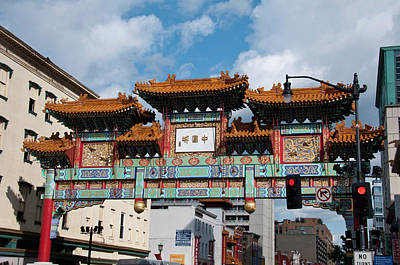 Chinatown Photograph - Chinatown, Washington, Dc by Lee Foster