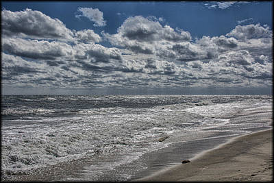 Photograph - Chincoteague Beach by Erika Fawcett
