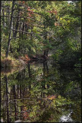 Photograph - Chincoteague Stream by Erika Fawcett