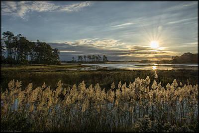 Photograph - Chincoteague Sunrise by Erika Fawcett