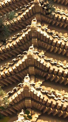 Photograph - Chinese Architectural Details by Alfred Ng