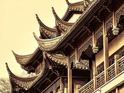 Photograph - Chinese Architecture by Robert Knight