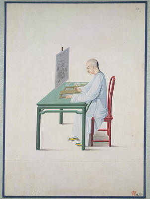 Of Artist Photograph - Chinese Artist by British Library