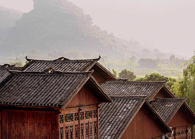 Photograph - Chinese Buildings by Karen Saunders