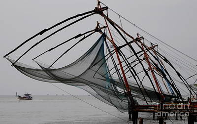 Photograph - Chinese Fishing Net Drama by Jacqueline M Lewis