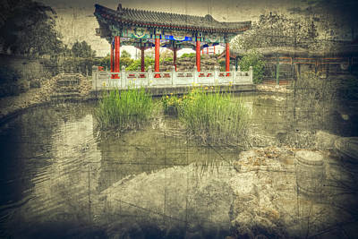 Photograph - Chinese Gardens by Wayne Sherriff
