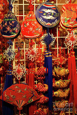 Photograph - Chinese Handicrafts Vancouver Chinatown by John  Mitchell