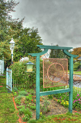 Photograph - Chinese Herb Garden by Robert Culver