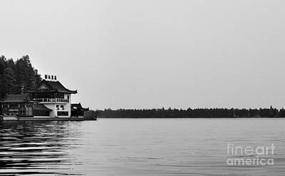 Photograph - Chinese Lake House by Matt Malloy