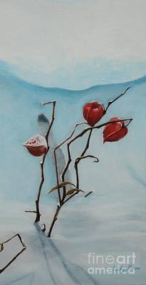 Painting - Chinese Lanterns by Jesslyn Fraser