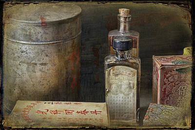 Barkerville Photograph - Chinese Medicinals by Ed Hall
